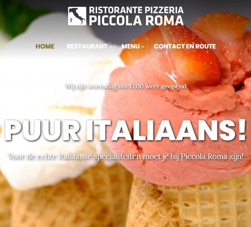 Italiaans restaurant Piccola Roma