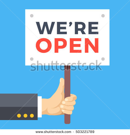 https://thumb1.shutterstock.com/display_pic_with_logo/1186124/503221789/stock-vector-hand-holding-we-are-open-banner-wooden-sign-paper-placard-with-title-store-opening-business-503221789.jpg