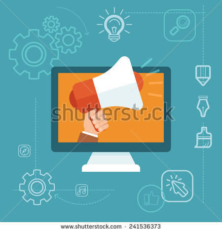 https://thumb1.shutterstock.com/display_pic_with_logo/164782/241536373/stock-vector-vector-digital-marketing-concept-in-flat-style-hand-holding-megaphone-online-advertising-241536373.jpg